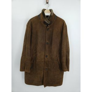 Johnston & Murphy Sheepskin Merino Shearling Coat